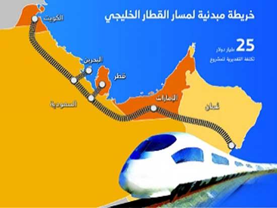 الاتفاق على توحيد المواصفات الشاملة لسير القطارات في جميع دول المجلس