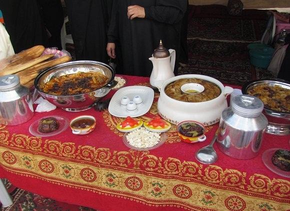 المأكولات العربية الشعبية