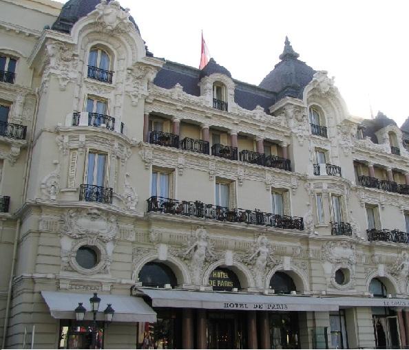 فندق باريس فى موناكو