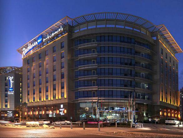 فندق راديسون بلو دبى