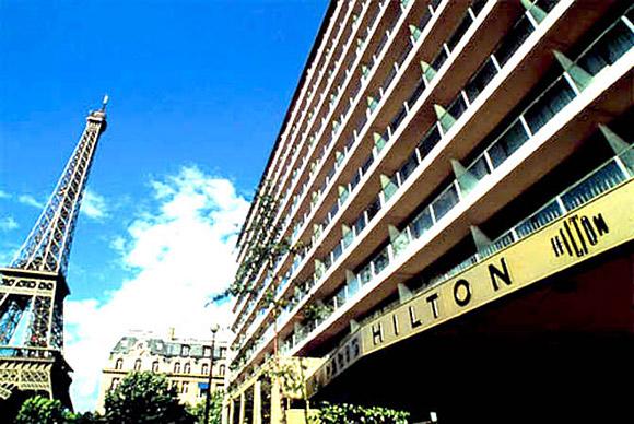 فندق هيلتون فى باريس
