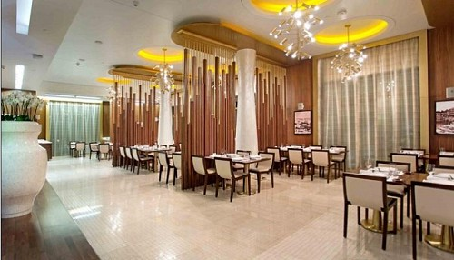 مطعم السلطان إبراهيم في فندق سانت ريجيس الدوحة