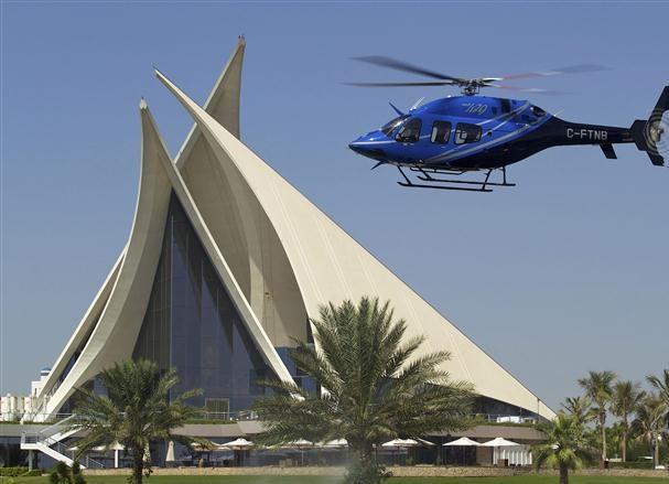 معرض دبي لطائرات الهليكوبتر