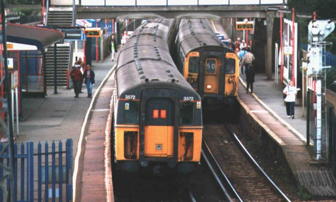قطار لندن