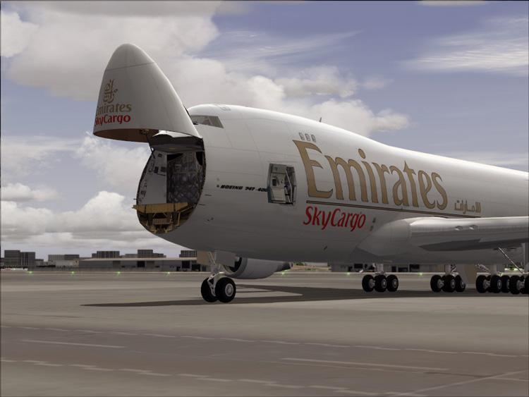 طيران الإمارات الجديدة