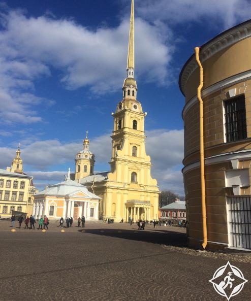 قلعة بيتر و بول في بطرسبورج