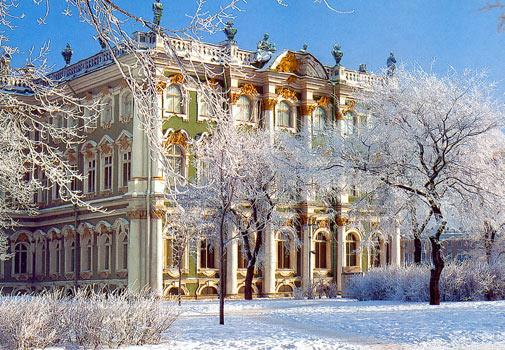 القصر الشتوي بطرسبورج
