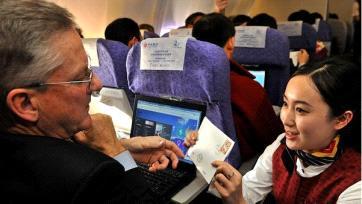 الصين ثاني اكبر دولة في الطيران المدني