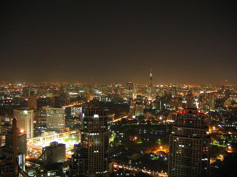 مدينة بانكوك فى تايلاند