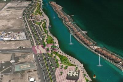 أمير مكة يفتتح المرحلة الأولى من مشروع الواجهة البحرية