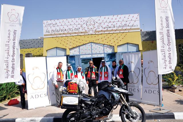 رحالتان كويتيان يشاركان في رحلة لعبور 8 دول أفريقية بدراجة نارية خلال 3 أشهر