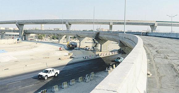 الجسر دخل مراحله الأخيرة