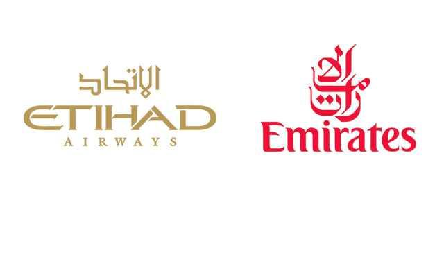 طيران الإمارات وطيران الاتحاد
