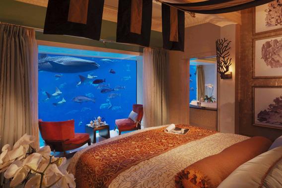 غرف فندق اتلانتس دبي