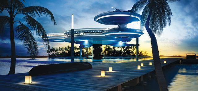 440 مليون درهم لإنشاء أكبر فندق تحت الماء