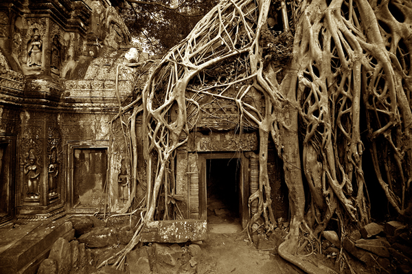 أنكور فى كمبوديا.. مدينة تختصر آثار العالم داخل معابدها