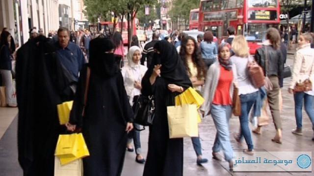 5.5 مليارات درهم أنفقها الخليجيون في بريطانيا خلال 9 شهور