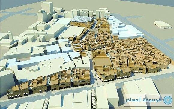 حي الدحو وسط الرياض
