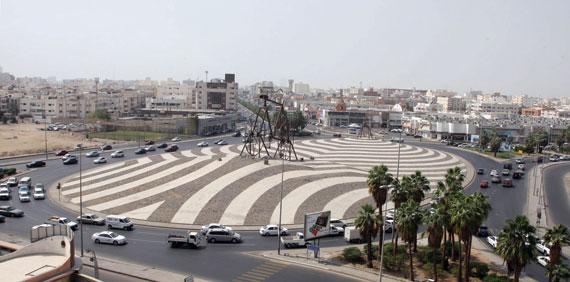 دوار الدراجة في جدة