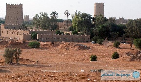منطقة الثمامة شمال مدينة الرياض