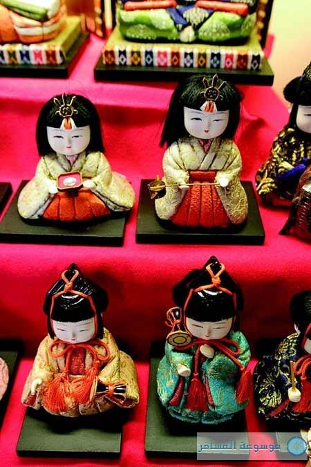"""المنامة تزف """" العرائس اليابانية """" بثوب بحريني ضمن معرض """"دمى اليابان"""""""