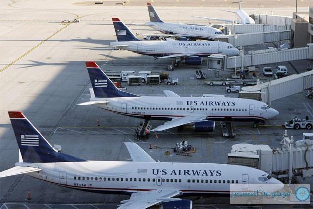 أنباء عن اندماج شركتي طيران أمريكيتين لإقامة أكبر شركة في العالم