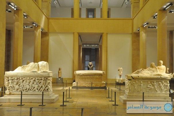 """""""ناووس أحيرام"""".. أقدم أثار الأبجدية في التاريخ بمتحف بيروت الوطني"""