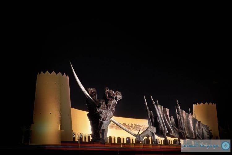 افتتاح البوابة الغربية لمدينة الرياض .... اليوم