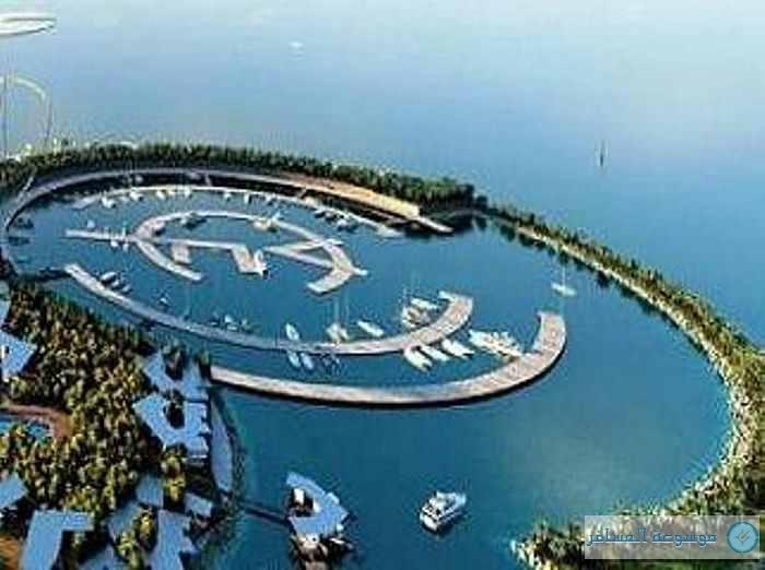 جزيرة المرجان الصناعية