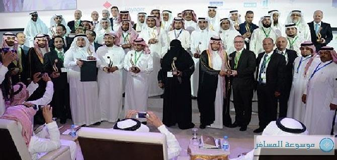 صورة جماعية للفائزين