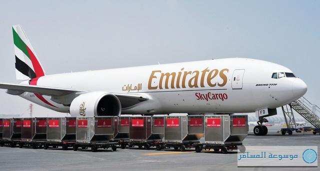 الإمارات للشحن الجوي تفوز جائزة «ناقلة العام 2013 للشحن»