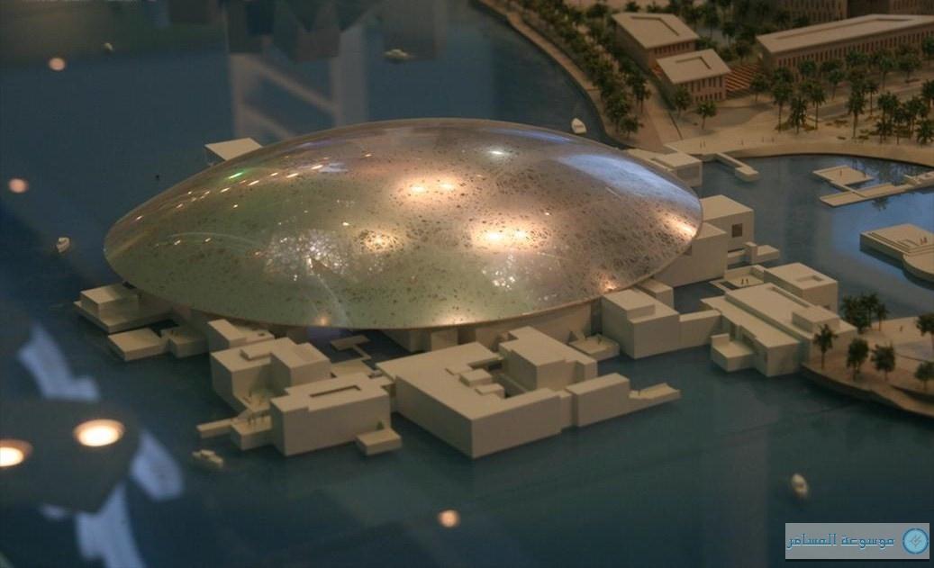 """بدء المرحلة الرئيسية الثانية من عمليات تطوير """"متحف اللوفر أبوظبي"""""""