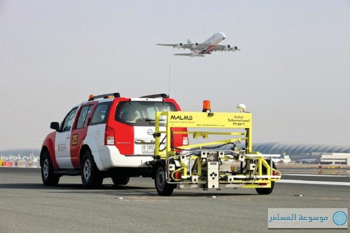 مدرجي مطار دبي