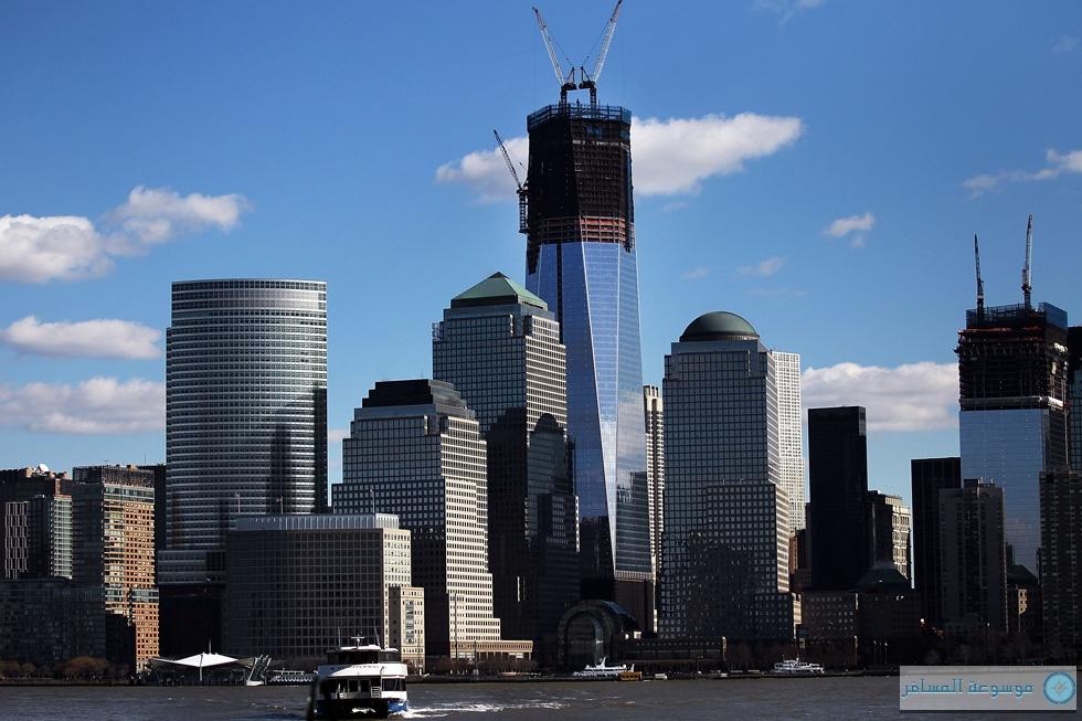 أبراج مركز التجارة الجديد في نيويورك