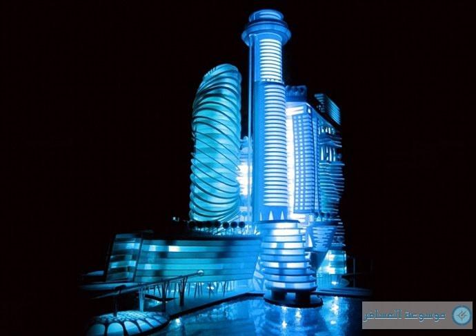 منظر عام لفندق الفضاء