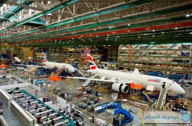 أول طائرتين من طراز بوينج 787 دريملاينر