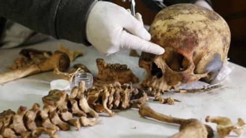 """اكتشاف """"مقبرة أثرية"""" في بيرو تعود إلى 1200 عام"""