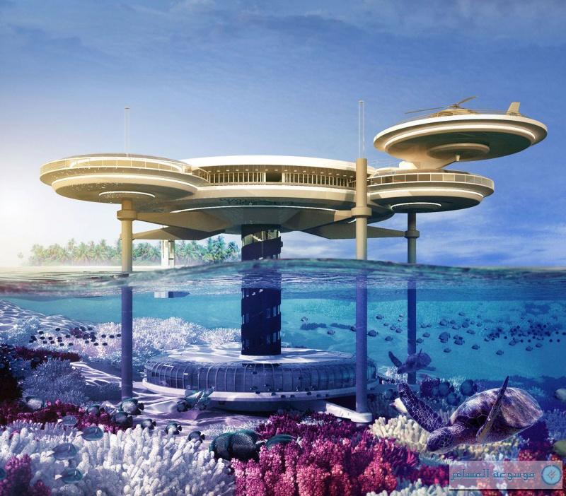 """""""الأحواض"""" و""""أعماق المحيط"""" تناقشان مشروع إنشاء فندق عائم"""