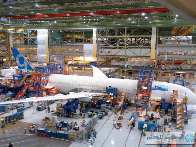 بوينج تبدأ عملية التجميع النهائي لـ «دريملاينر 787-9»