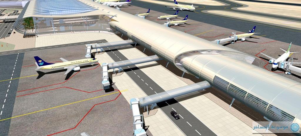 """مشروع """"مطار أبها الإقليمي"""" الجديد معلم حضاري في الملاحة الجوية"""