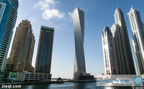 """افتتاح أعلى برج لولبي في العالم بدبي بعد تغيير اسمه لـ""""كيان"""""""
