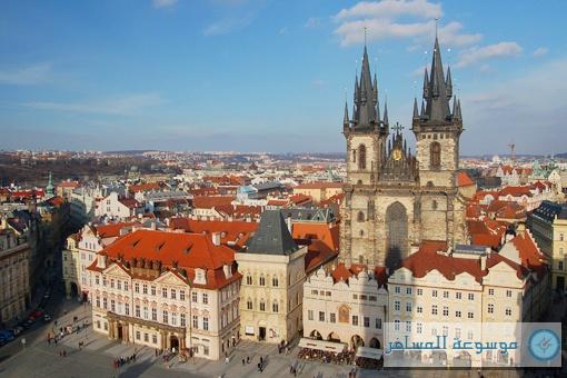 خصم إضافي بقيمة 10% لزوار موسوعة المسافر إلى مدينة براغ من أجودا . كوم