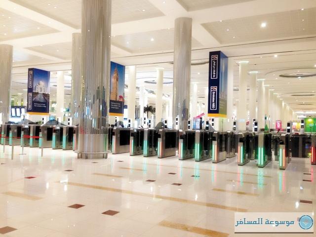 """تطبيق نظام البوابة الذكية في """"مطارات دبي الدولية"""""""