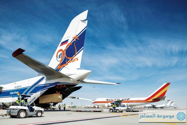مطارات دبي: 37% نمو حركة الطائرات في «دبي ورلد سنترال» خلال النصف الأول