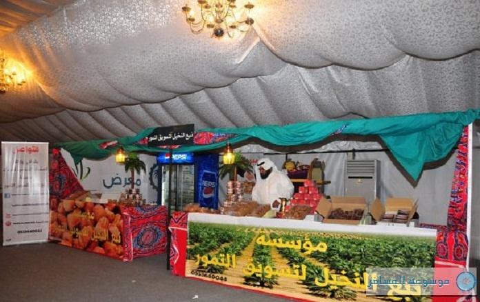 """""""مهرجان التسوق"""" في عنيزة يطلق معرض التمور والغذاء"""