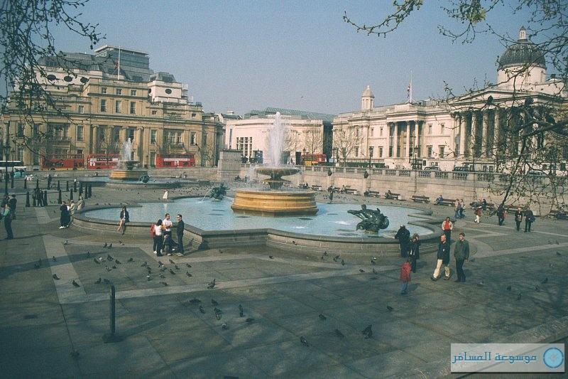 السياح في لندن