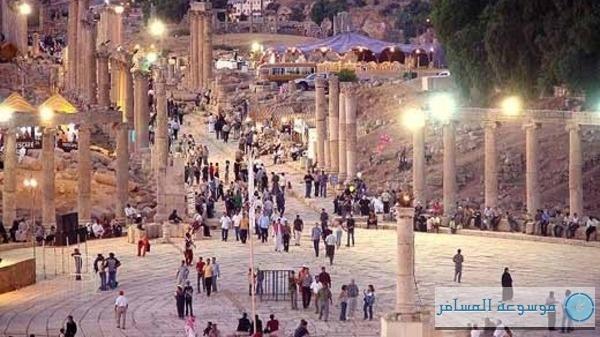 السياح في الأردن
