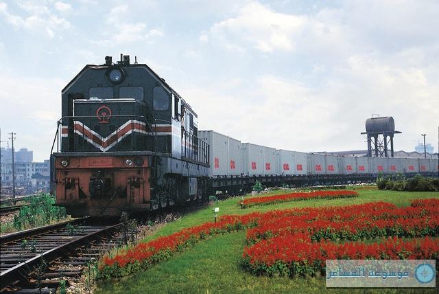 أضخم قطار شحن في العالم