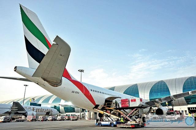 """بلومبيرغ: """"مطار دبي"""" 5 أكبر مطارات الشحن في العالم"""