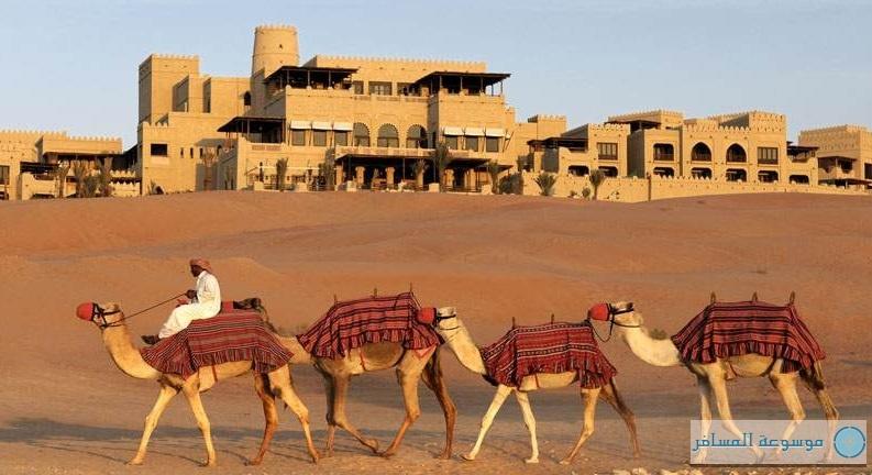 منتجع الصحراء قصر السراب بإدارة أنانتارا